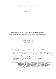 Formation récifales - Horizon documentation-IRD