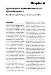 Applications of molecular genetics in apomixis research - Horizon ...
