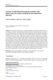 Synergy of multi-label hierarchical ensembles, data fusion, and cost ...
