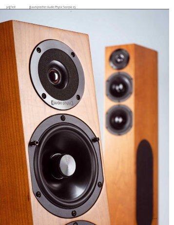 32 Test Lautsprecher Audio Physic Scorpio 25