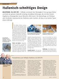 Praxisbericht SL 835 DT UFA-Revue 4/2013 - Althaus AG
