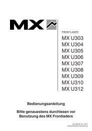 Frontlader U300 Series - MX