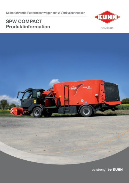 SPW ComPaCt Produktinformation - Kuhn Maschinen Vertrieb GmbH