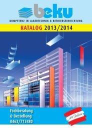 Katalog Download pdf - beku Lagertechnik GmbH