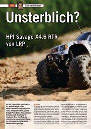 HPI Savage X4.6 RTR von LRP - VTH