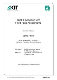 Book Embedding with Fixed Page Assignments - Algorithmik I ...