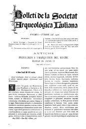 olletíOela Societat rqueológicaBuliana
