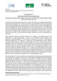 Die faschistische Herausforderung. - Institut für Zeitgeschichte
