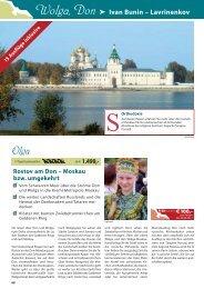 Wolga, Don Ivan Bunin – Lavrinenkov - TravelCMS