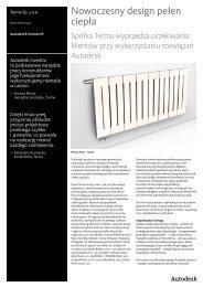 Nowoczesny design pełen ciepła - Autodesk