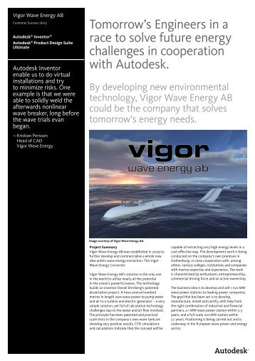 Tomorrow's Engineers in a race to solve future energy ... - Autodesk