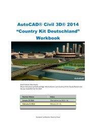 Country Kit Deutschland - Workbook 2013 - Autodesk
