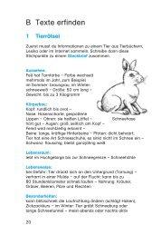 B Texte erfinden - Buch.de