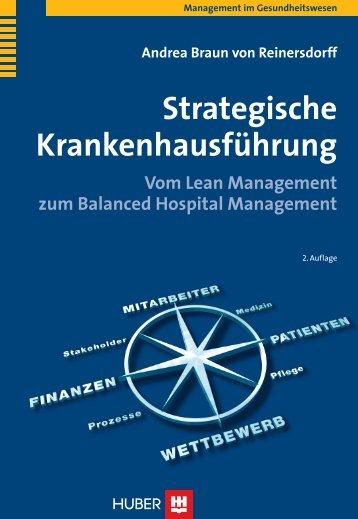 Strategische Krankenhausführung - Buch.de