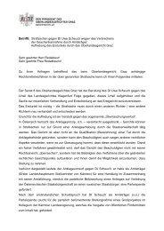 Strafsache gegen DI Uwe Scheuch - Information - Der Standard