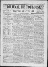 27 juillet 1858 - Bibliothèque de Toulouse