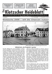 Heideblatt Nr.42 (Page 1) - Klotzscher Heideblatt