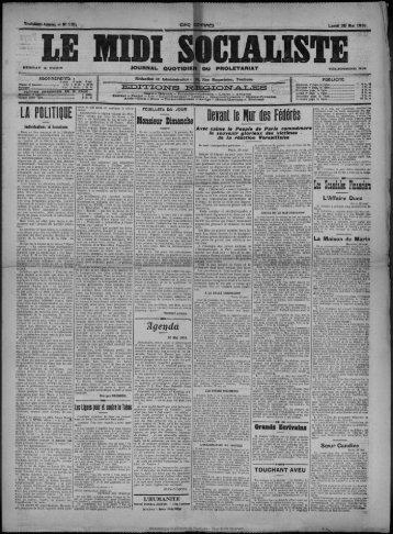 30 Mai 1910 - Bibliothèque de Toulouse