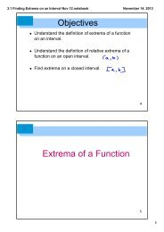 3.1 Finding Extrema on an Interval Nov 12.notebook