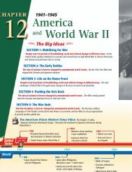 Chapter 12: America and World War II, 1941-1945 - Georgia ...