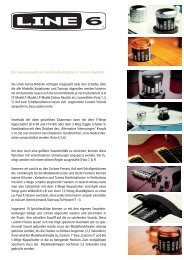 Die Soundauswahl der Line6 Variax Modelle im kurzen Überblick