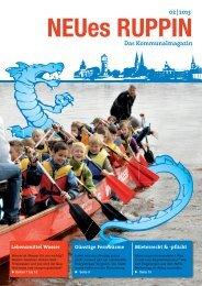 Das Kommunalmagazin 02 | 2013 - Stadtwerke Neuruppin