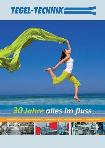 Imagebroschüre TEGEL-TECHNIK GmbH 7,1 MB
