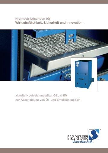 Produkt-Broschüre - Handte Umwelttechnik GmbH
