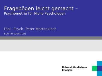 Bsp.: multimodale Seniorenschmerzgruppe - Schmerzzentrum ...