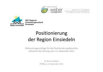 Positionierung der Region Einsiedeln - T3domains.ch