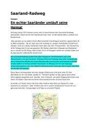 Saarland-Radweg - FriBi - Mayer