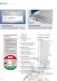 AKTUELL TEST & TECHNIK - Macwelt