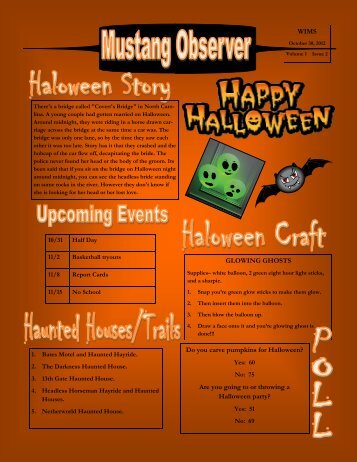 Newsletter-Halloween
