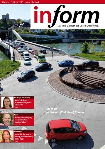 Oltech im gordischen (Verkehrs-) Knoten - oltech GmbH