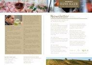 PDF: Newsletter Juni 2013 - Weingut Hans Igler