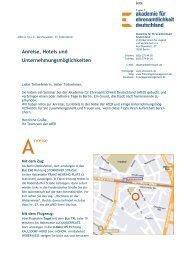 Anfahrt und Hotelübersicht als PDF herunterladen [267,41 KB, pdf]
