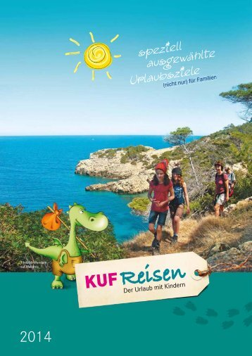 PDF-Version* des KUF-Reisen Katalog 2014