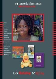 Der Katalog 2013 | 14 - Terre des Hommes