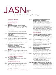 TOC (PDF) - Journal of the American Society of Nephrology