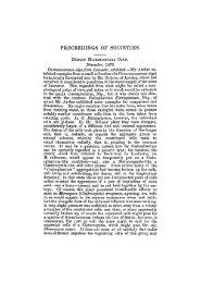 PROCEEDINGS OF SOCIETIES. - Journal of Cell Science