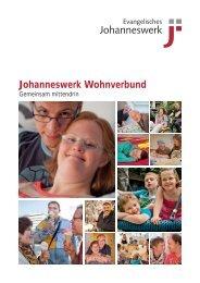 Broschüre - Johanneswerk