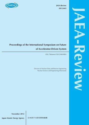 JAEA-Review-2012-043.pdf:26.88MB