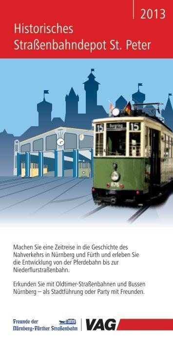 2013 Historisches Straßenbahndepot St. Peter - Vag