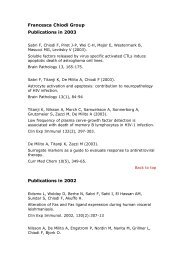 Publications 1999-2003 (Pdf file, 43 Kb)
