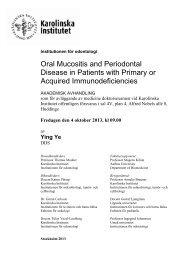 Abstract (Pdf file, 96 Kb) - Karolinska Institutet