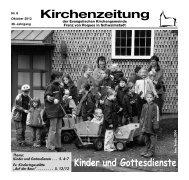 Kirchenzeitung 2013-08 Oktober - kirchetreysa.de