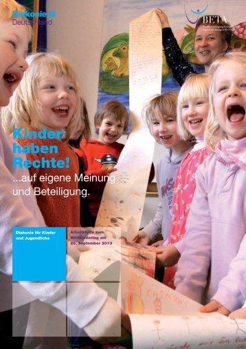 Kinder haben Rechte! - Fachbereich Kindertagesstätten - Zentrum ...