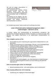 Leiter Infrastrukturelles Gebäudemanagement ... - Kloster Eberbach