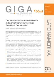 Der Mensalão-Korruptionsskandal mit weitreichenden Folgen für ...