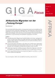 """Afrikanische Migranten vor der """"Festung Europa"""""""